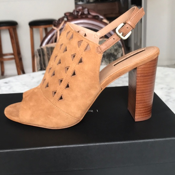 cdf5dec139 Tahari Shoes   Marvel Suede Sandals   Poshmark